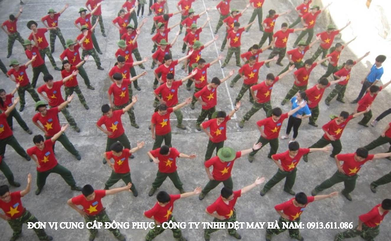 Cung cấp áo Cờ đỏ Sao vàng cho các khóa HKQĐ