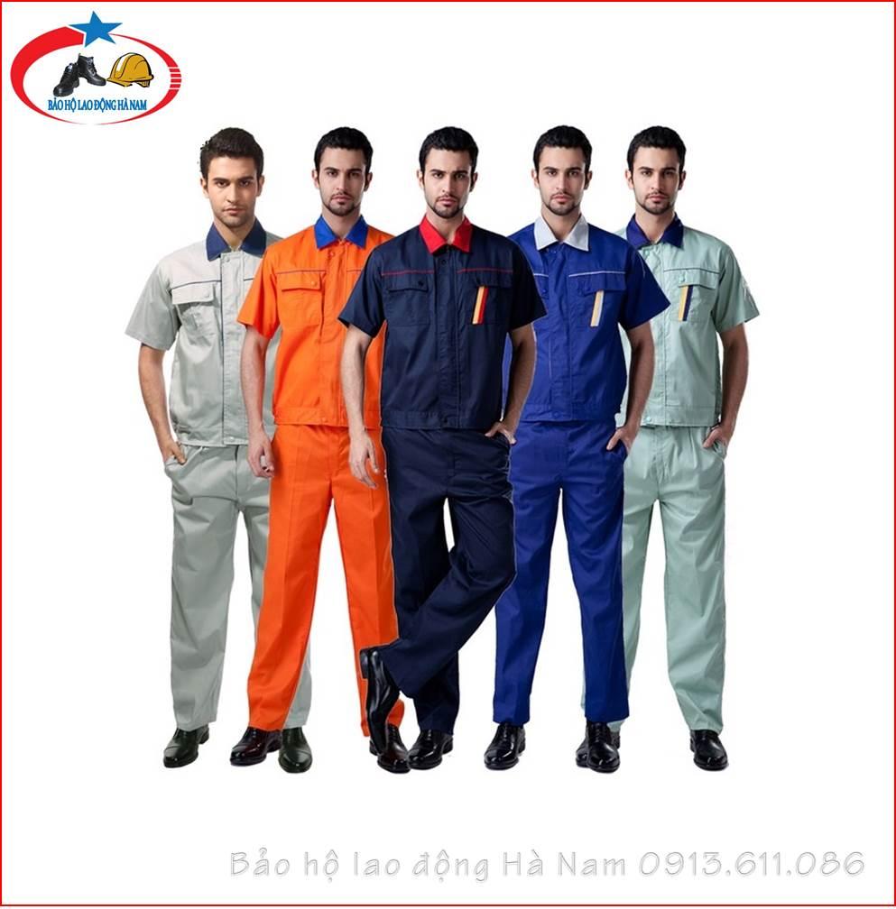 Quần áo Bảo hộ lao động Mẫu_A1