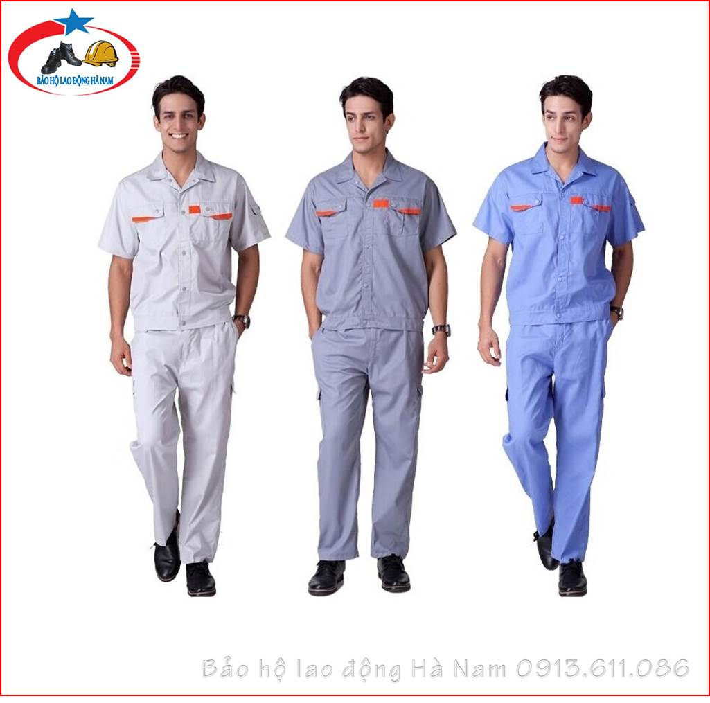 Quần áo Bảo hộ lao động Mẫu_A4
