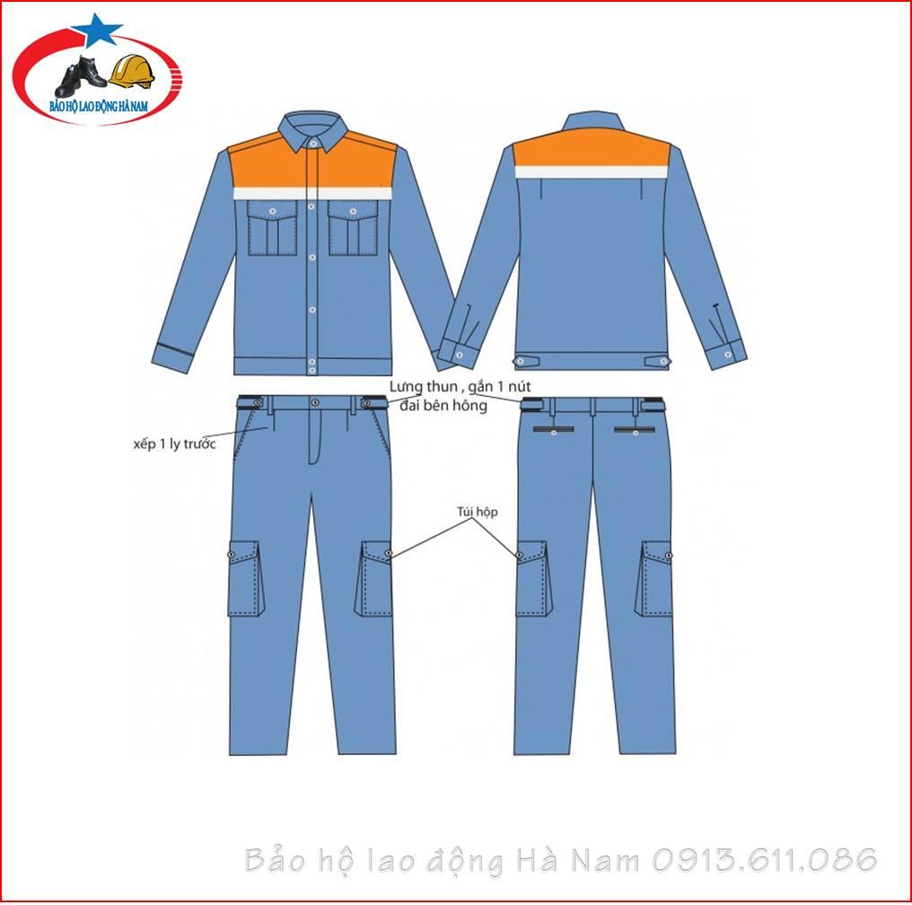 Quần áo Bảo hộ lao động Mẫu_A5