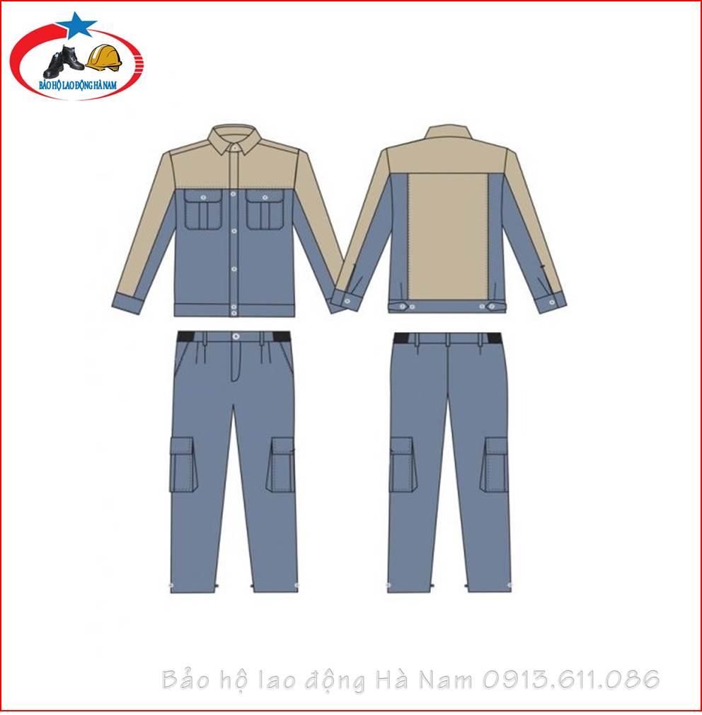 Quần áo Bảo hộ lao động Mẫu_A8