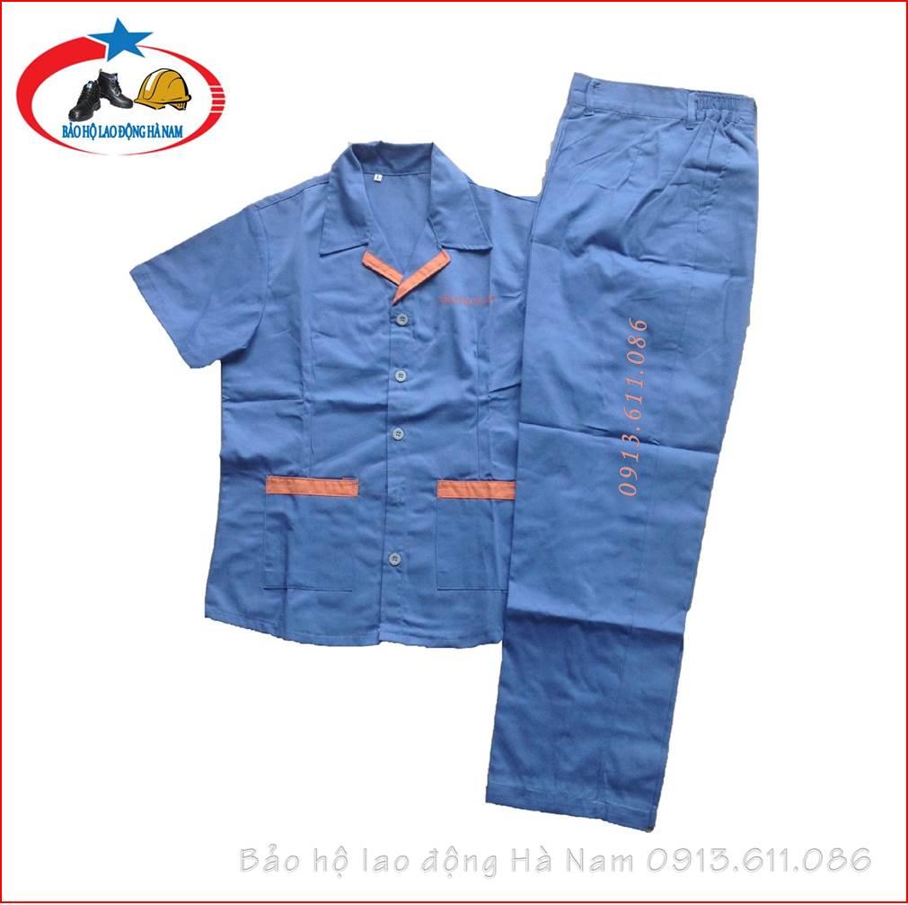 Quần áo Bảo hộ lao động Mẫu_A13